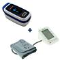 Kit Pulsossimetro + Misuratore di pressione